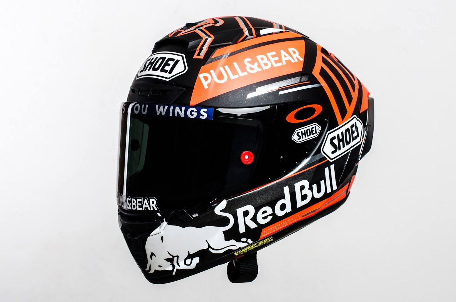 racing helmets garage shoei x spirit iii m m rquez test. Black Bedroom Furniture Sets. Home Design Ideas