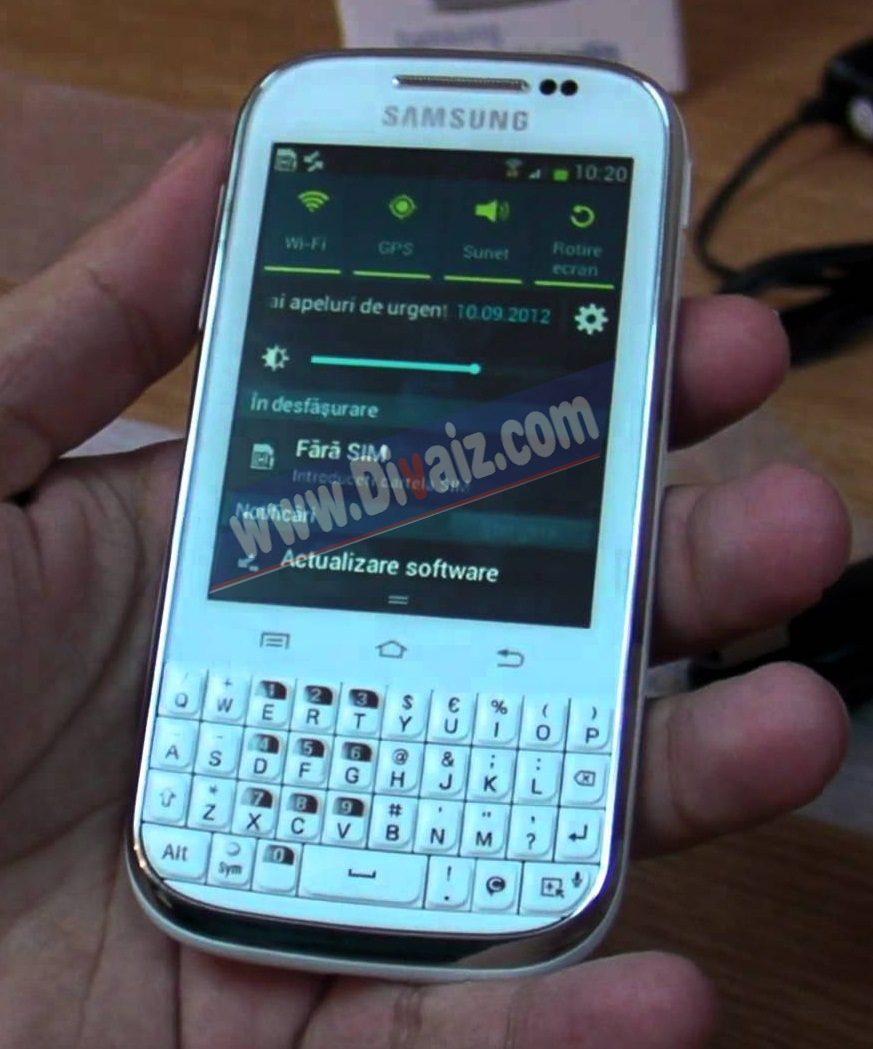 Samsung Galaxy Chat - www.divaizz.com