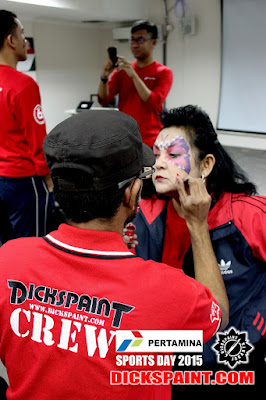 Face Painting Butterfly Jakarta