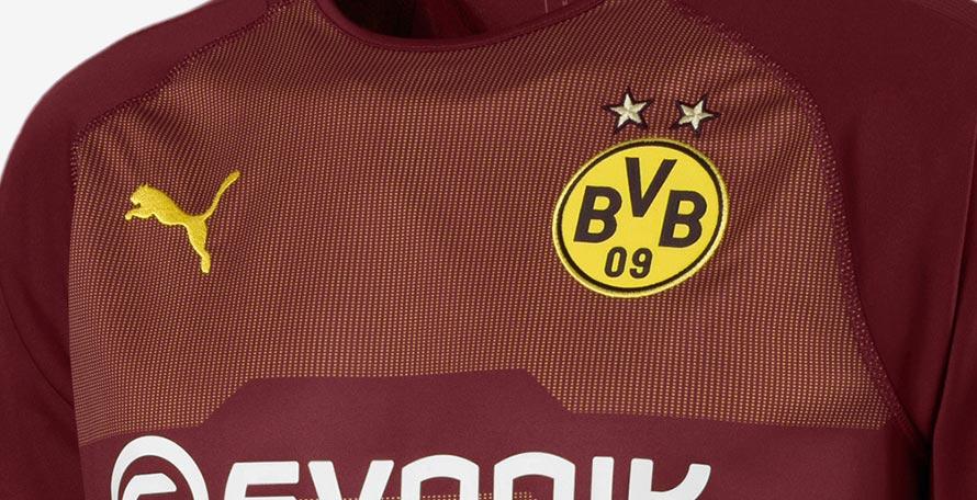 half off a831c 8c0ce Puma Borussia Dortmund 18-19 Goalkeeper Home, Away & Third ...