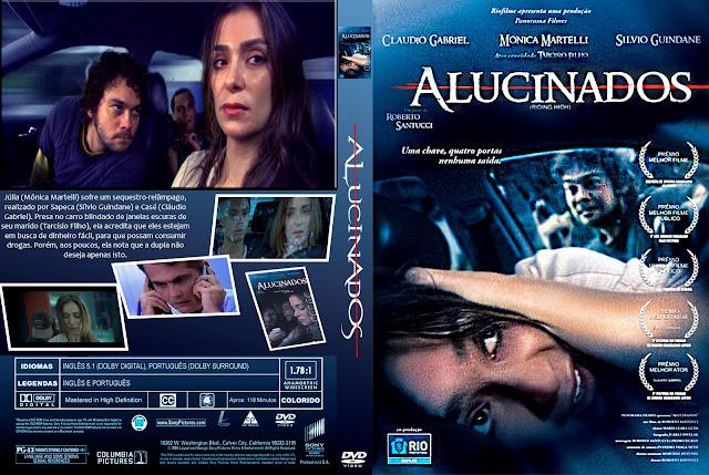 Capa DVD Alucinados