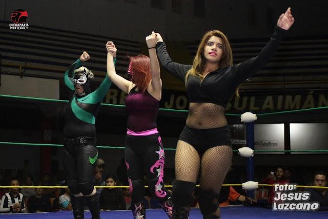 Polly Star and Baby Puma vs La Chacala and Tsunami