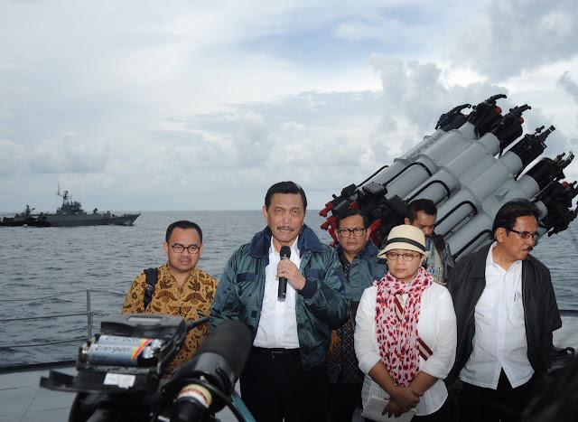 Menko Polhukam Luhut B. Pandjaitan : Natuna Merupakan Wilayah Kedaulatan Republik Indonesia