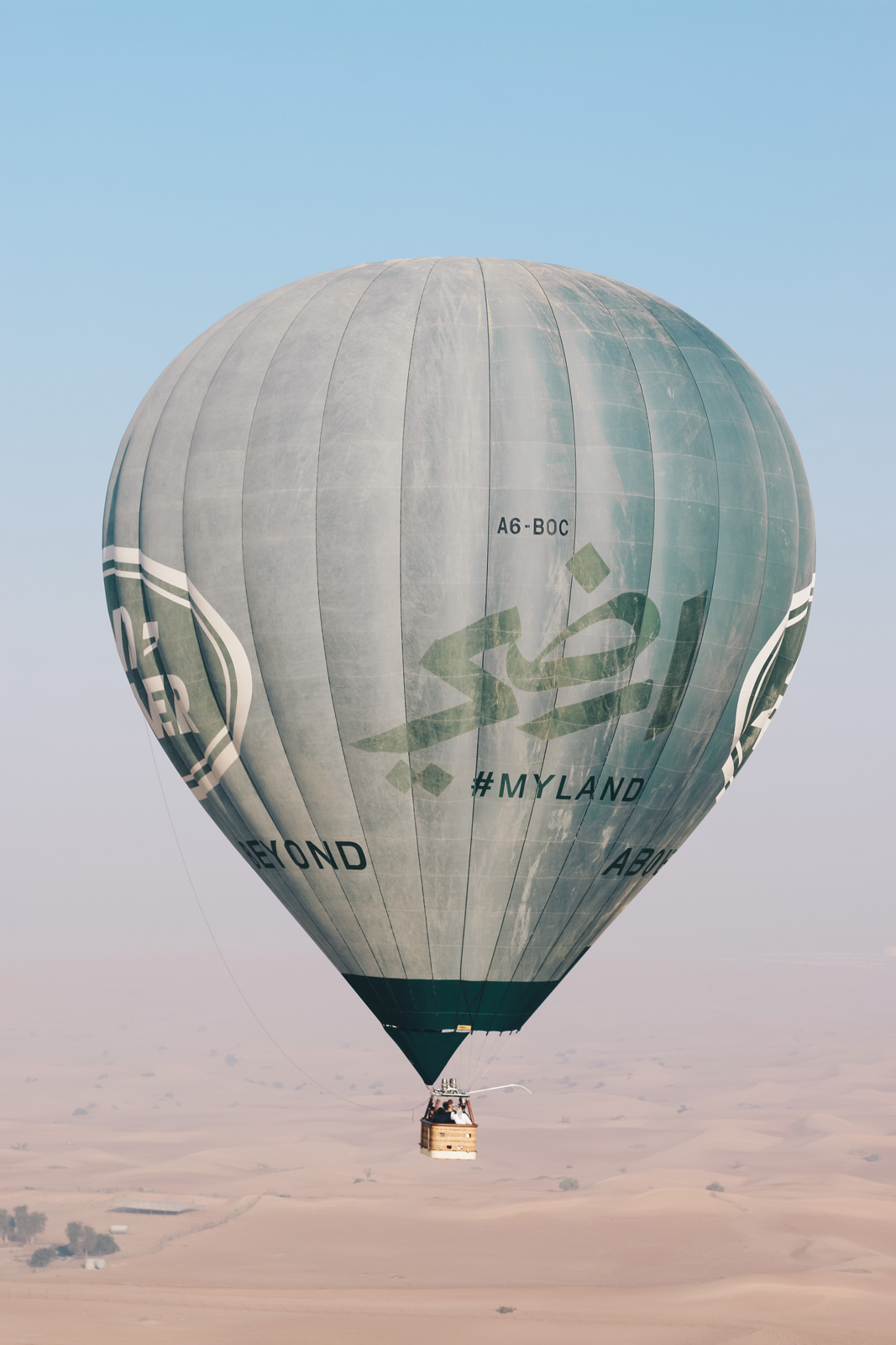 photo of hot air balloon in Dubai