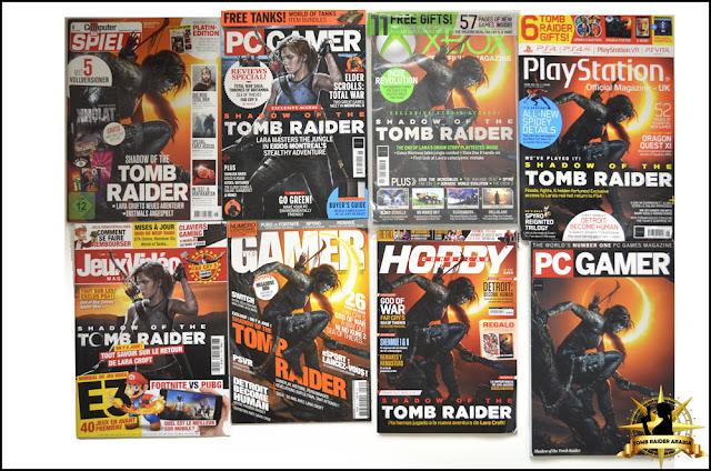 Tomb Raider Arabia تومب رايدر بالعربي: Magazines