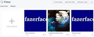 Como criar um álbum e enviar fotos no Facebook