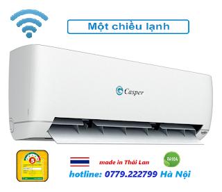 Điều hòa Casper 9000 BTU Thông minh Smart Wifi