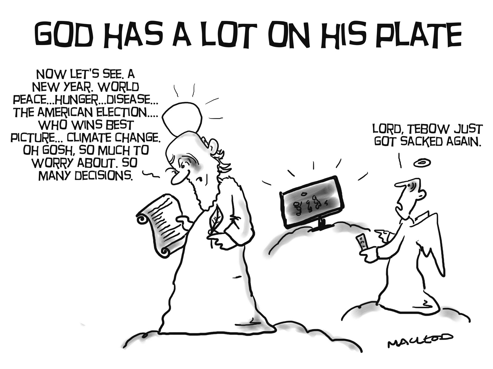 God Doesn't Play Favorites: The Absurdity of Sports