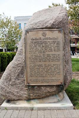 Wisconsin Historical Markers Racine Wisconsin