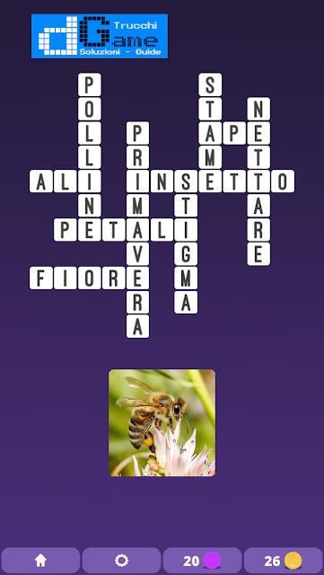 Soluzioni One Clue Crossword livello 3 schema4 (Cruciverba illustrato)  | Parole e foto