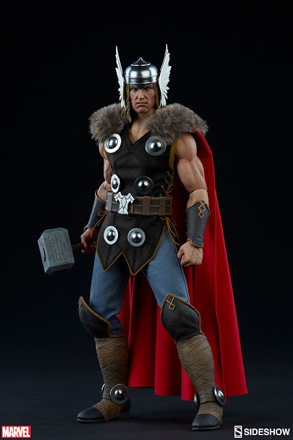 "osw.zone Preorder Sideshow Collectibles Marvel Comics 1 / 6. Scale Thor Odinson 12 ""Collector figure"