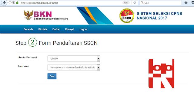 form pendaftaran cpns