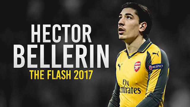 Hector Bellerin masuk dalam daftar Pelari Tercepat di Liga Primer Inggris