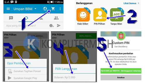 Cara Buat PIN BBM Android Sesuka Hati / Sesuai Keinginan