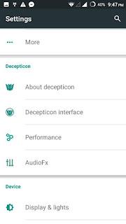 Descepticon OS v2 Screenshots