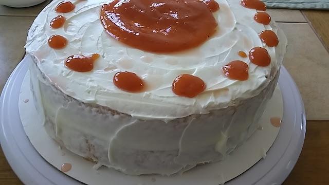 Loquat Tiramisu Cake