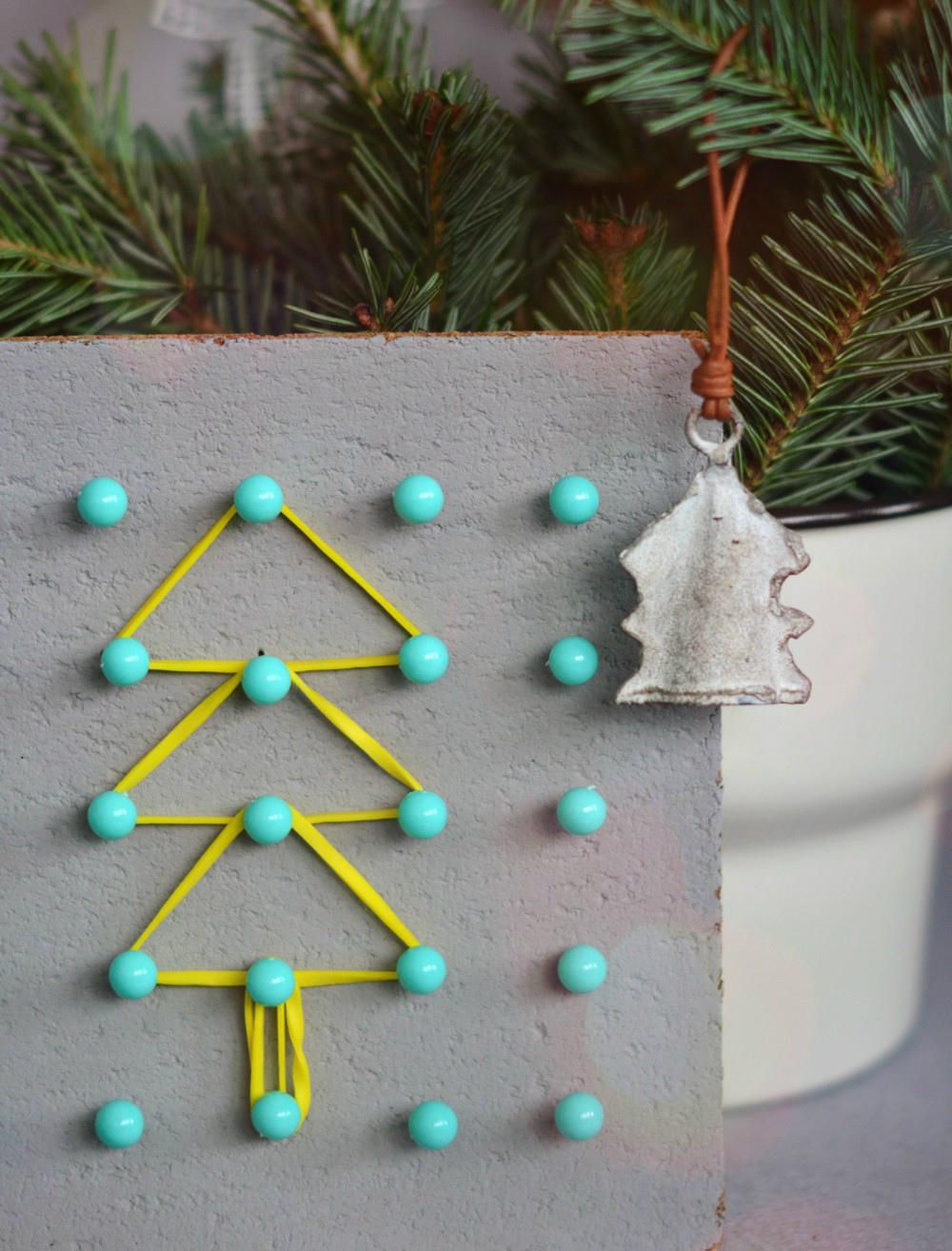 DIY: świąteczny geoplan