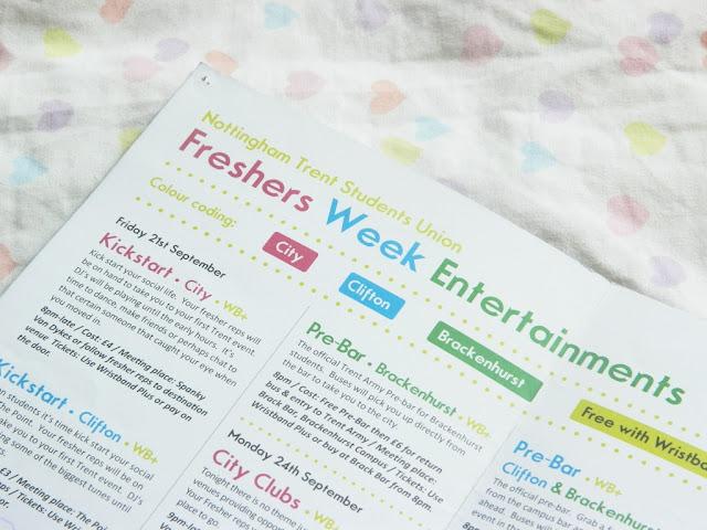 Guide to University Freshers Week