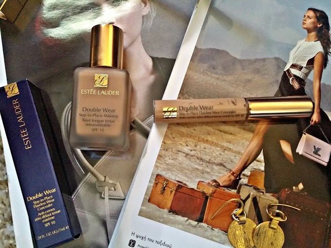 Review : Estee Lauder Double Wear Stay-in-Place Foundation & Concealer