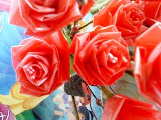 Contoh Bunga Mawar Dari Plastik Kresek Bekas