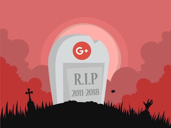 Selamat Tinggal Google+