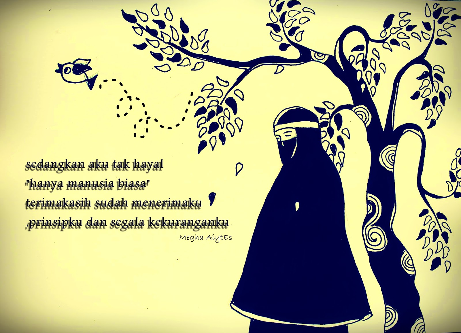 Gambar Kartun Muslimah Cantik Berkacamata: Gambar Kartun Muslimah Untuk Sampul Facebook