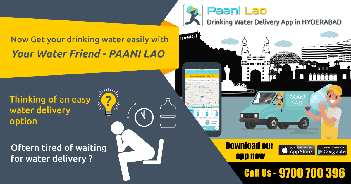 Paani lao your water friend – Are you looking for instant drinking