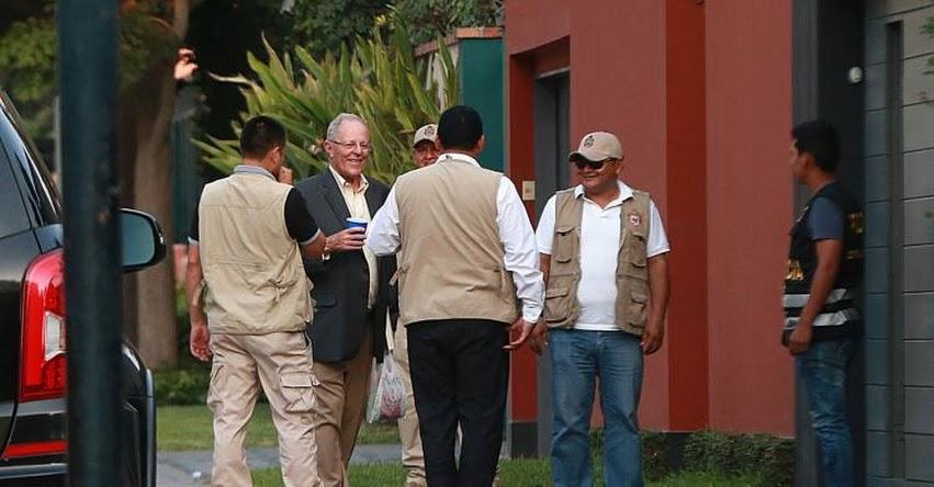 Fiscalía allana inmuebles del expresidente Pedro Pablo Kuczynski - PPK