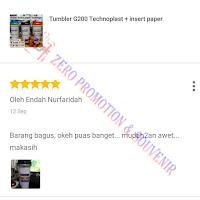 Testimoni Pembelian Tumbler technoplast G200