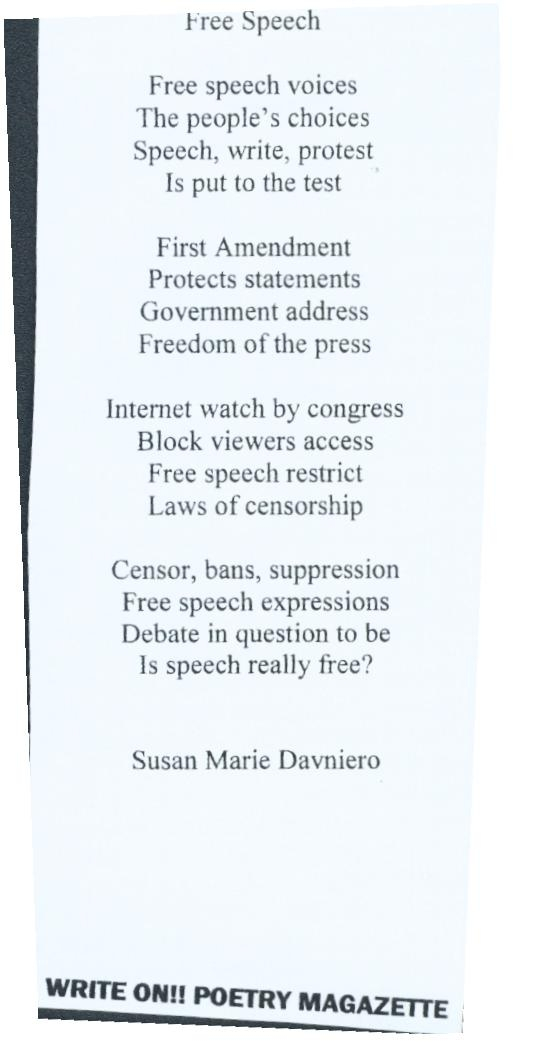 What Does Free Speech Mean?
