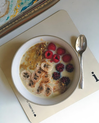 Dad's Perfect Groovy Porridge [Vegan!], imogen molly blog, www.imogenmolly.co.uk
