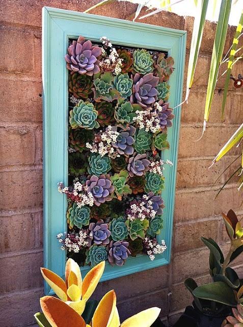 ideias para jardim em apartamento: Lindas ideias para jardim suspenso e jardim vertical – apartamento II