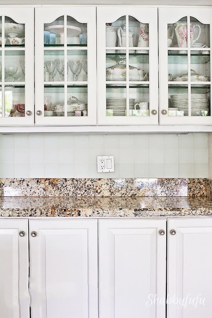 seaglass kitchen backsplash tile