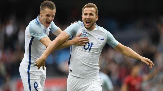 Inggris vs Slovenia