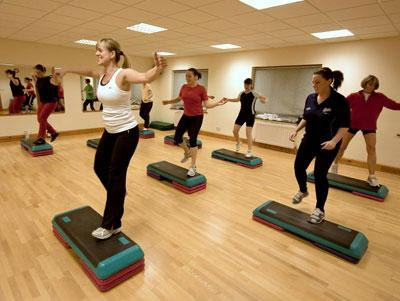En aerobics te divertirás mientras haces ejercicio