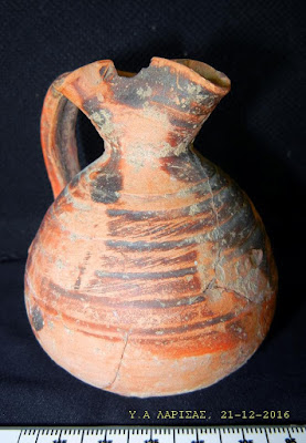 Σύλληψη 36χρονου αρχαιοκάπηλου στα Φάρσαλα