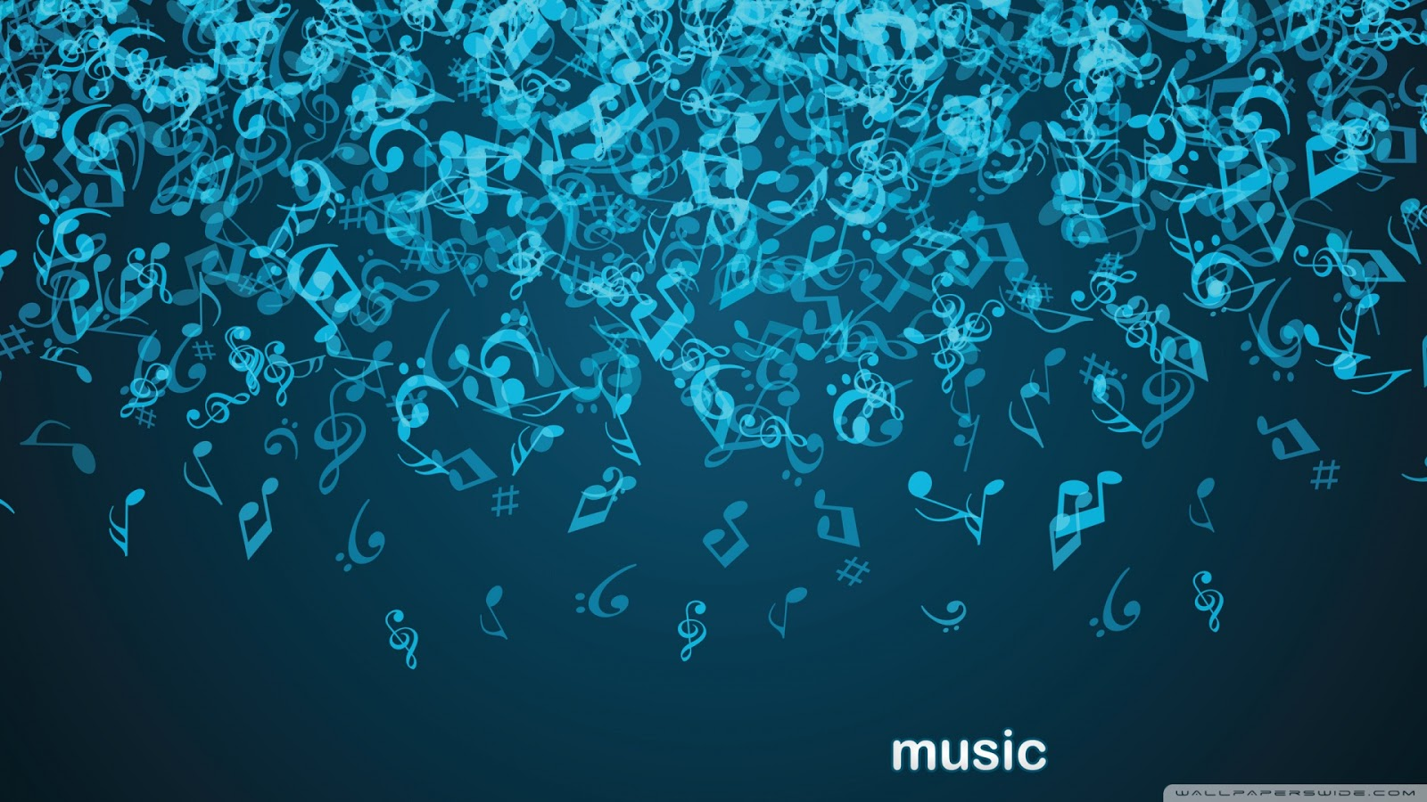 Music Notes Wallpaper For Walls