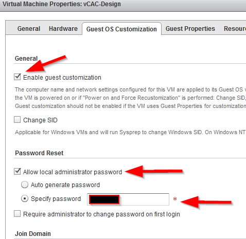 StorageGumbo: vCD vApp Deployment Fails for vCAC Blueprints