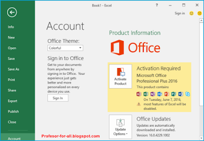 Microsoft Office 2016 Professional ISO + Activator Final ...
