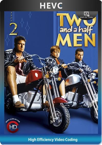 Two And Half Men (2004) S02 1080p AMZN WEB-DL Dual Latino-Inglés [HEVC-10bit] [Subt. Esp] (Serie De TV. Comedia)