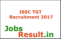 JSSC TGT Recruitment 2017