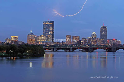 Boston Lightning and Thunderstorm photos
