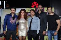 Pia Bajpai and Darshan Kummar Launching the Music of movie Mirza Juuliet 011.JPG