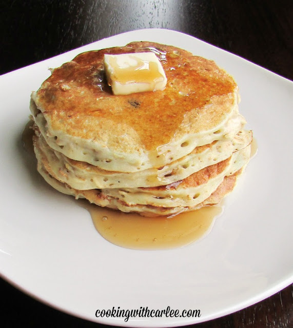 Cooking With Carlee: Blueberry Oatmeal Pancakes