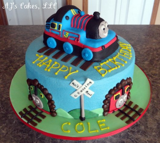 Aj S Cakes Thomas The Train And Friends