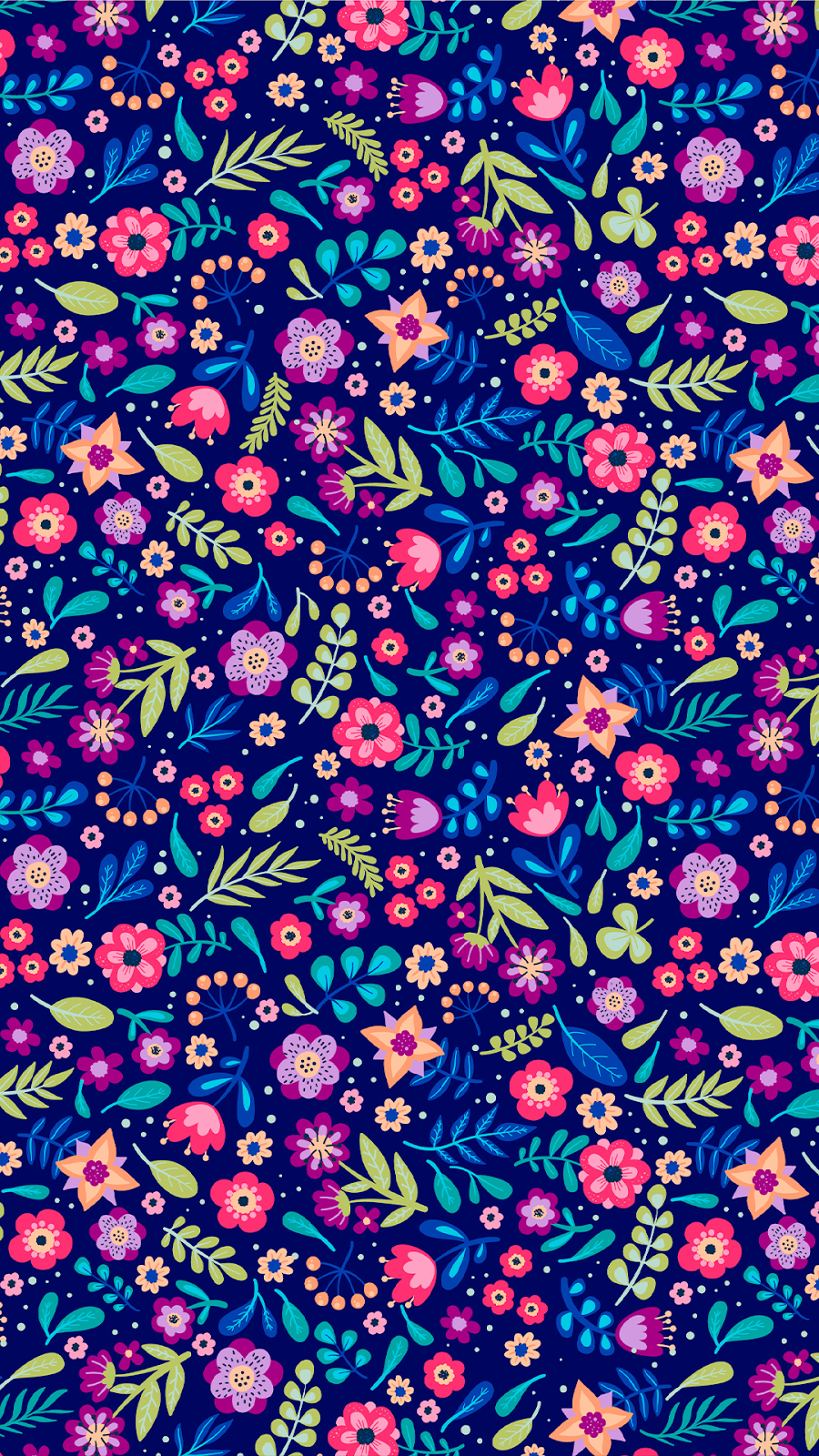 flower pattern wallpaper