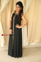 Kannada Actress Divya Uruduga Pos in Black Long Dress at Huliraaya Movie Audio Release Event  0013.jpg