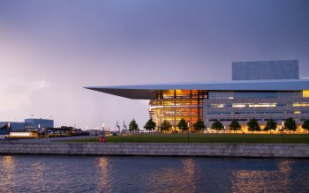 Wallpaper: The Copenhagen Opera House