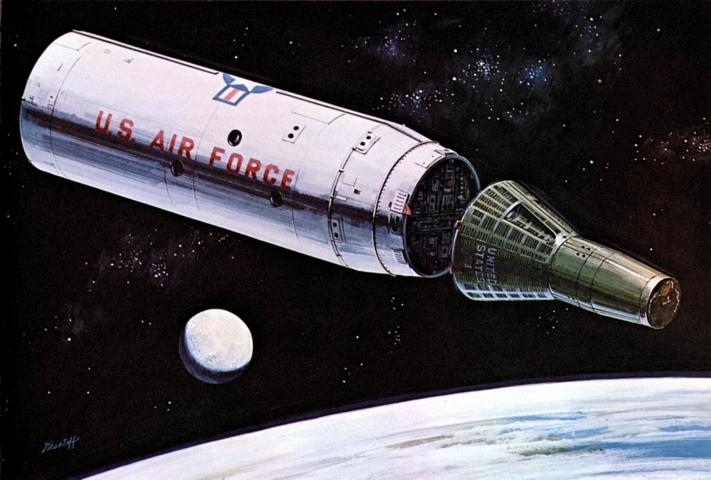 Proposed Gemini Spacecraft (page 2) - Pics about space