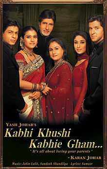 Kabhi Khushi Kabhie Gham is Hrithik Roshan (Duggu) 10th Highest Grossing film of his career, Co-Actress Kareena Kapoor Khan